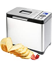 Secura Bread Maker 2.2 Pound Toaster Machine Multi-Use Programmable