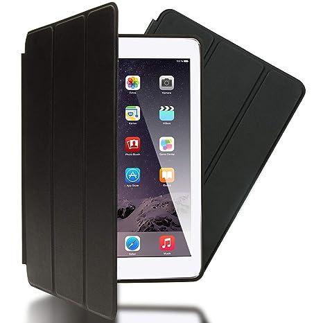 NALIA Funda Smart-Case compatible con iPad Air 1, Carcasa Ultra-Fina Protectora Plegable con Cuero Sintetico Vegan, Tablet Movil Bumper Cover Doble ...