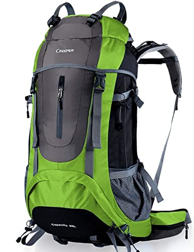 e0e85c2a21c1 CREEPER 登山かばん 大容量 60L メンズ アウトドア スポーツ メンズ レディース 兼用 新モデル 登山リュック