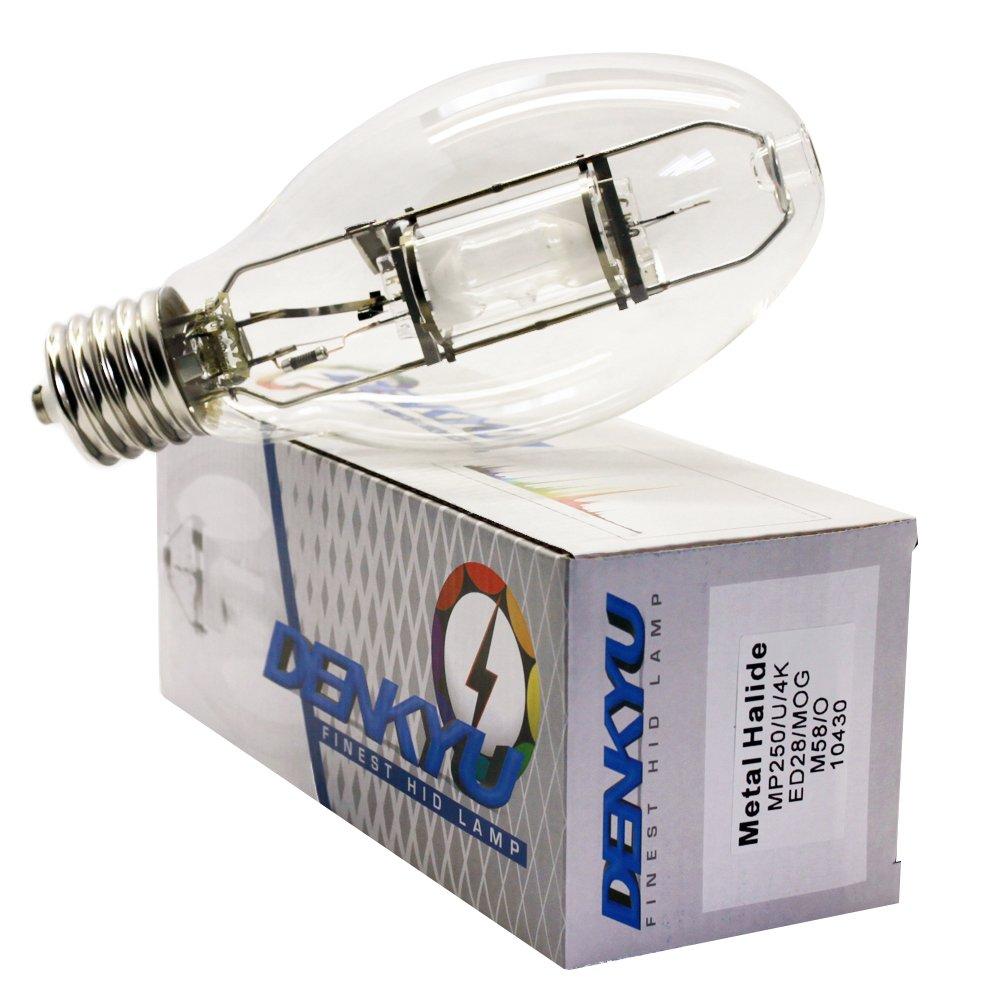 MP250/U/4K/ED28 250W Metal Halide Protected Lamp MOG M58 Bulb (10430)