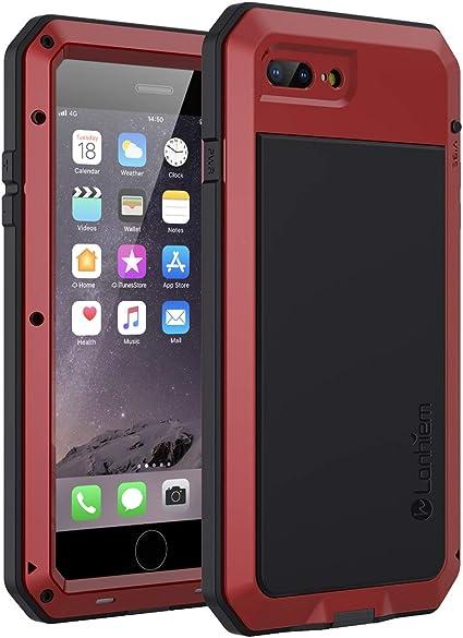 Lanhiem Funda iPhone 7 Plus / 8 Plus, [Rugged Armour] Antigolpes ...