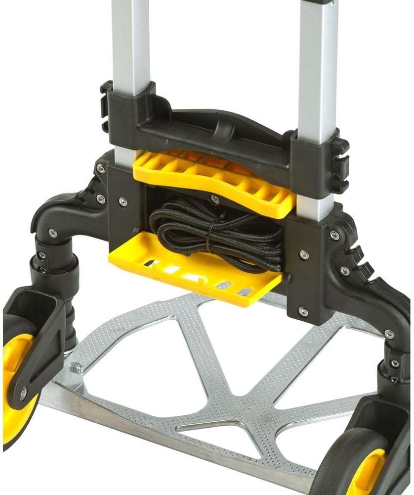 Stanley SXWTD-FT501 60 kg Folding Hand Truck with Basket Clip - Silver: Amazon.es: Bricolaje y herramientas