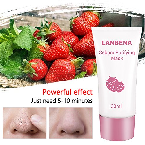 Strawberry Mask For Face - 3