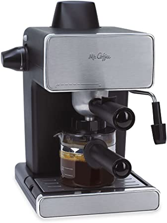 Mr. Coffee bvmc-ecm260-rb-1 vapor Espresso y Cappuccino Maker, Negro
