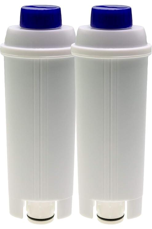 2 filtros de agua compatibles con cafeteras automáticas DeLonghi ...