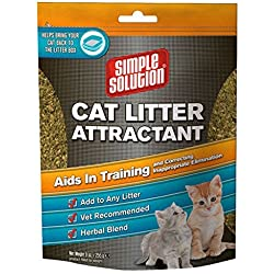 Simple Solution Cat Litter Attractant, 9-Ounce by Simple Solution