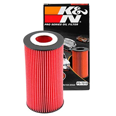 K&N Premium Oil Filter: Designed to Protect your Engine: Fits Select AUDI/FORD/VOLVO/VOLKSWAGEN Vehicle Models (See Product Description for Full List of Compatible Vehicles), PS-7010: Automotive