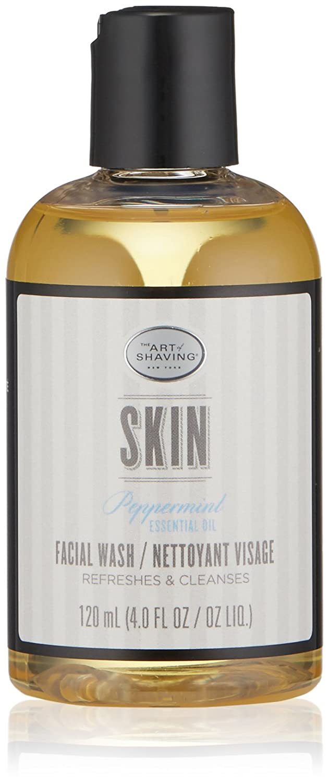 The Art of Shaving Facial Wash, Peppermint, 4 Fl Oz: Premium Beauty