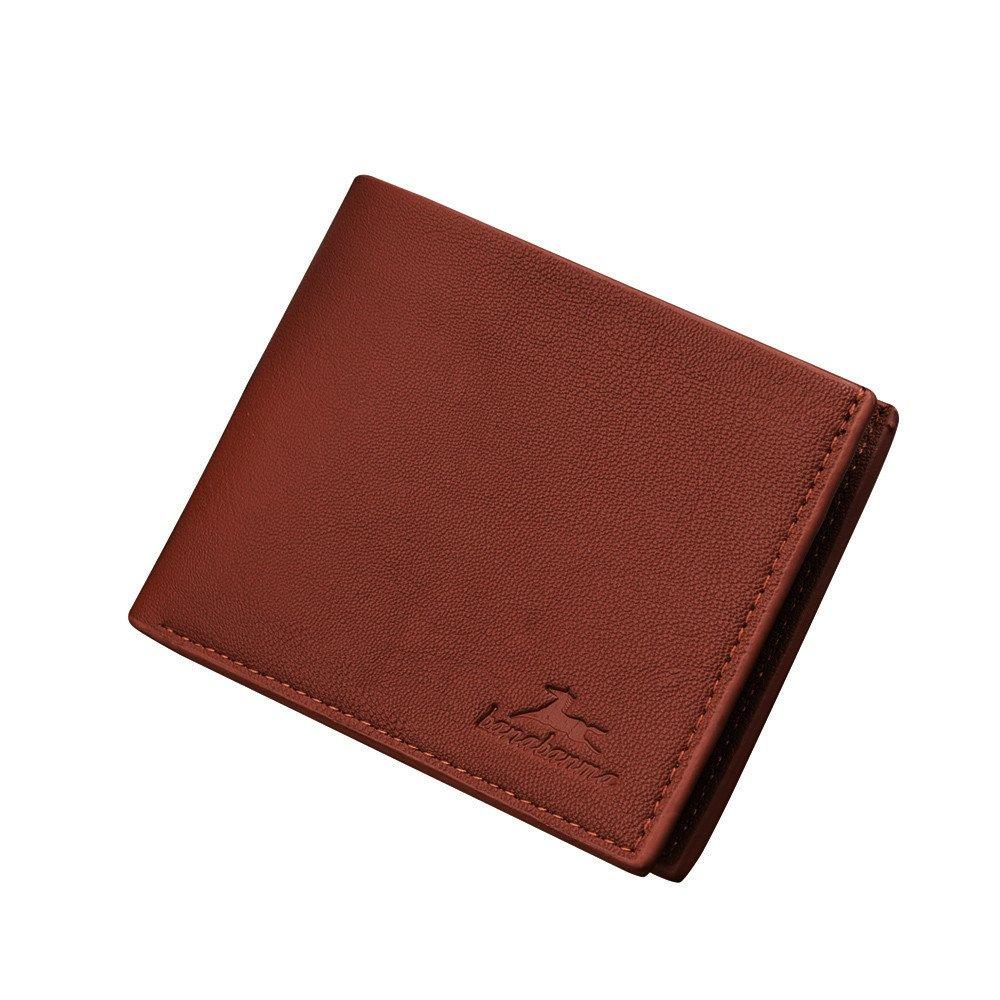 AIMEE7/_Portefeuille Homme avec Pince /à Billets Pas Cher Minimaliste pour Cartes et Billets Cadeau No/ël Anniversaire