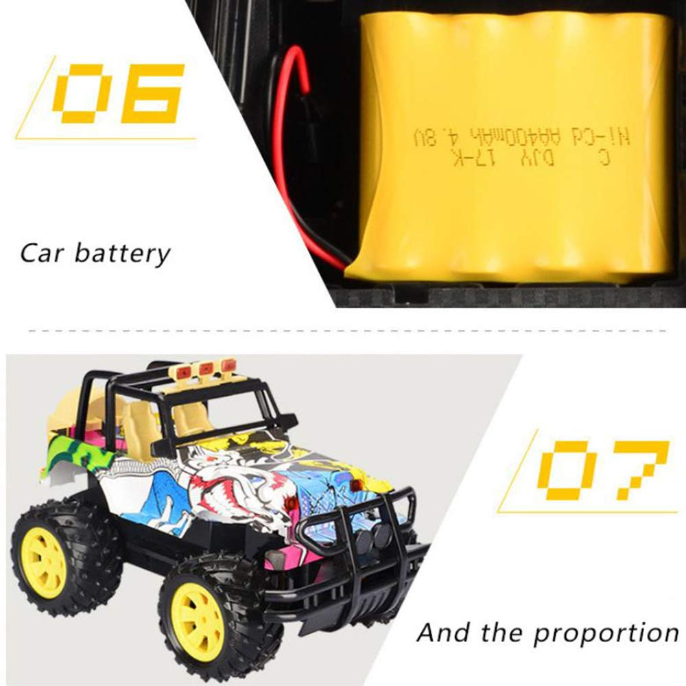 Trucks WXIAORONG Four-way Electric Remote Control Toy Car