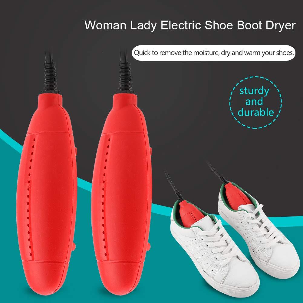 FTVOGUE Femme Portable Chaussure /Électrique Botte S/èche Botte Chauffe Outil D/éodorant Dispositif Protecteur De Pied 220V