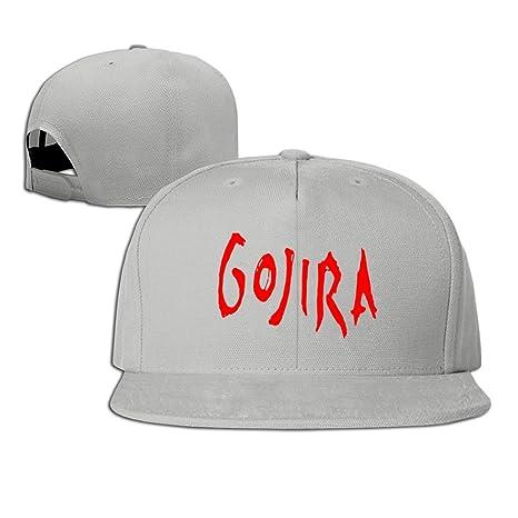 hmkolo Gojira banda (algodón), diseño con logotipo de Bill gorra ...