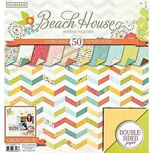 """Colorbok 12"""" Signature Paper Pad, Premium Beach House"""