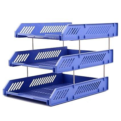 XHMCDZ 3 Niveles: bandejas de plástico para Organizador de ...