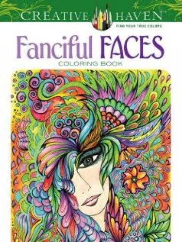 Fanciful Faces Coloring Creative Haven product image