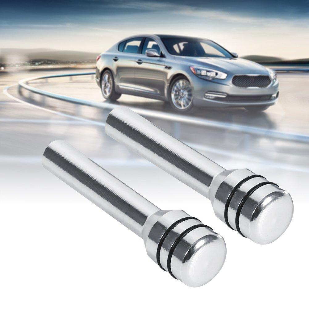 Color : Silver 2 Pcs Aluminum Interior Door Lock Knob Pull Pins for Car SUV Truck Automobile
