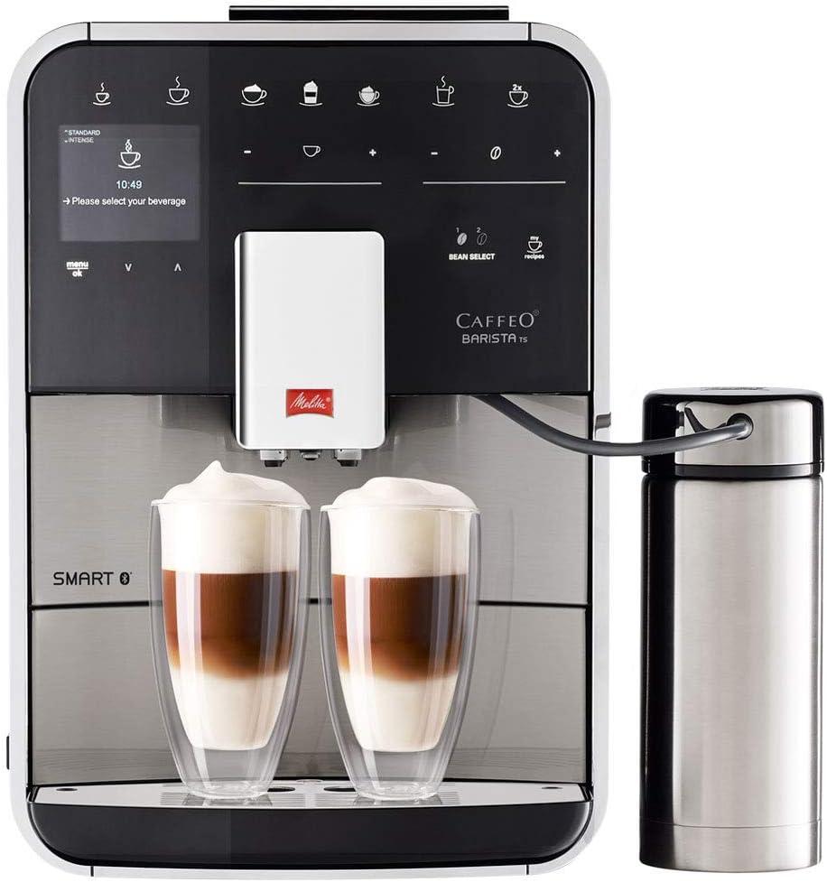 Melitta F860 100 Barista Ts Smart Coffee Machine 1450 W 18 Liters Stainless Steel