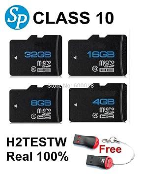 ARBUYSHOP tarjeta H2testw micro sd 32gb clase 10 de ultra unidad ...