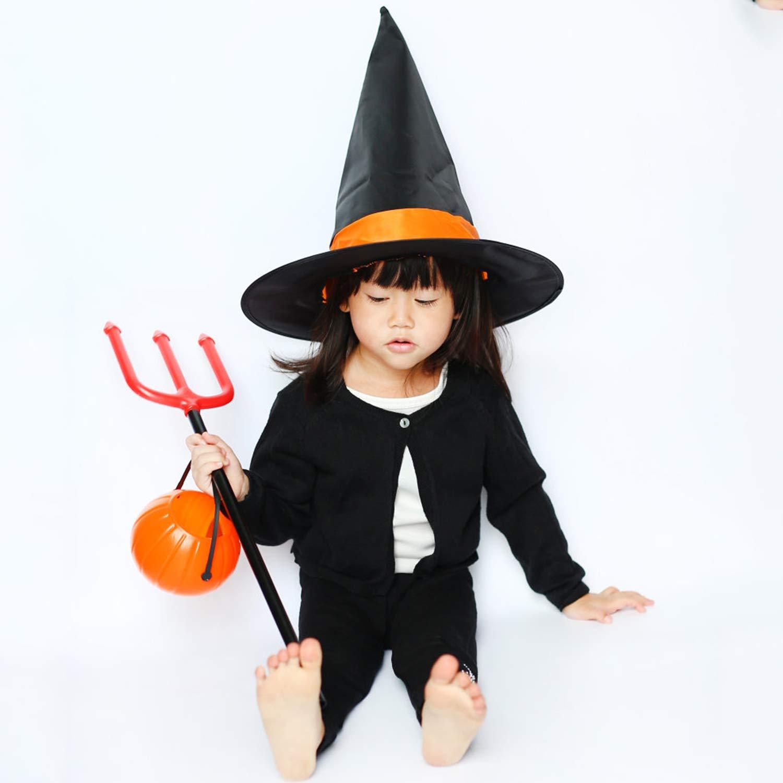 Fansport Halloween Kids Toy Pitchfork with Handle Halloween Prop Costume Prop Haunted House Prop