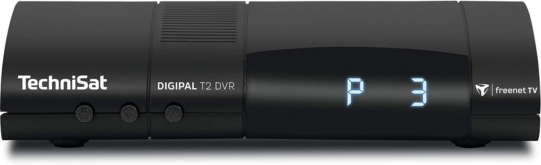 Technisat Digipal T2 Dvr Dvb T2 Hd Receiver Pvr Aufnahmefunktion Hdtv Kartenloses Irdeto Zugangssystem Für Freenet Tv 12 Volt Schwarz Heimkino Tv Video