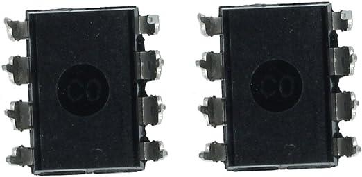 TOOGOO Amplificador 10x LM358N Amplificador operacional dual de 8 pines de baja potencia R
