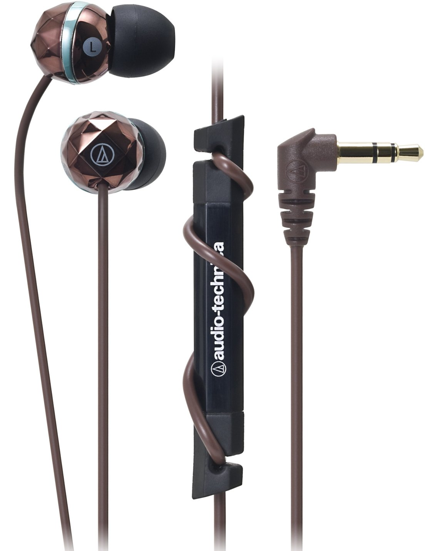 audio-technica カナル型イヤホン ブラウン ATH-CKF303 BW  ブラウン B004UTSCSO
