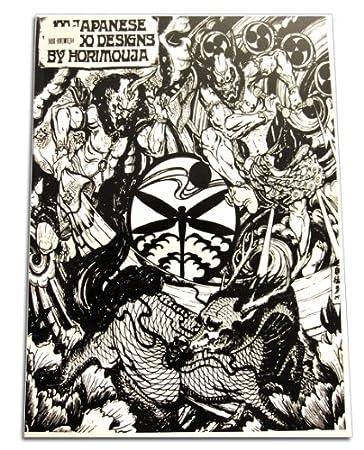 Design japanese book tattoo