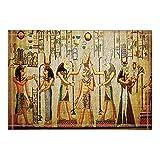 NYMB KOTOM Egyptian Decor, Egyptian Pharaoh Bath Rugs, Non-Slip Doormat Floor Entryways Outdoor Indoor Front Door Mat, Kids Bath Mat, 15.7x23.6in, Bathroom Accessories