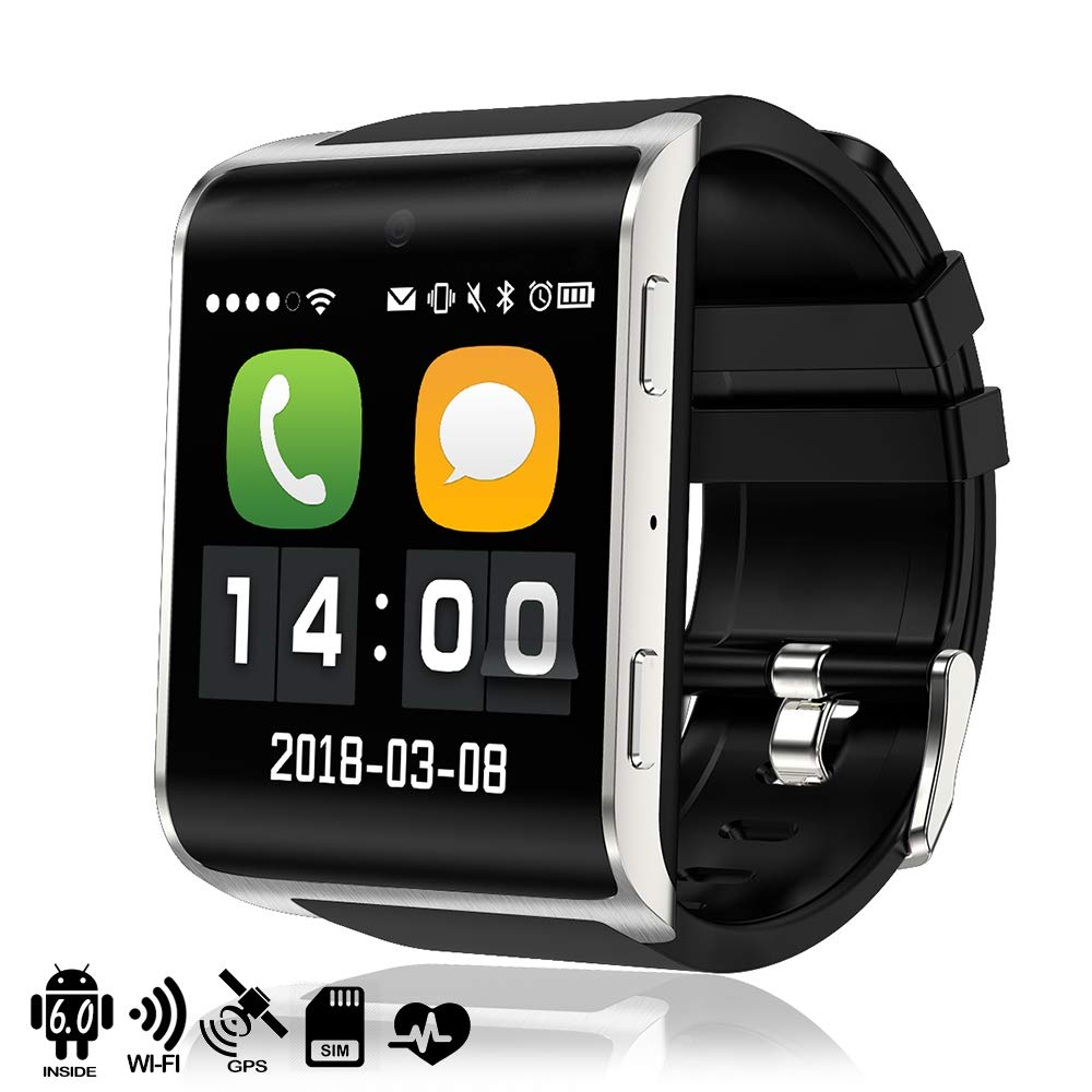 DAM Phone DM018 - Smartwatch (4G, Android 6.0, con WiFi y GPS ...