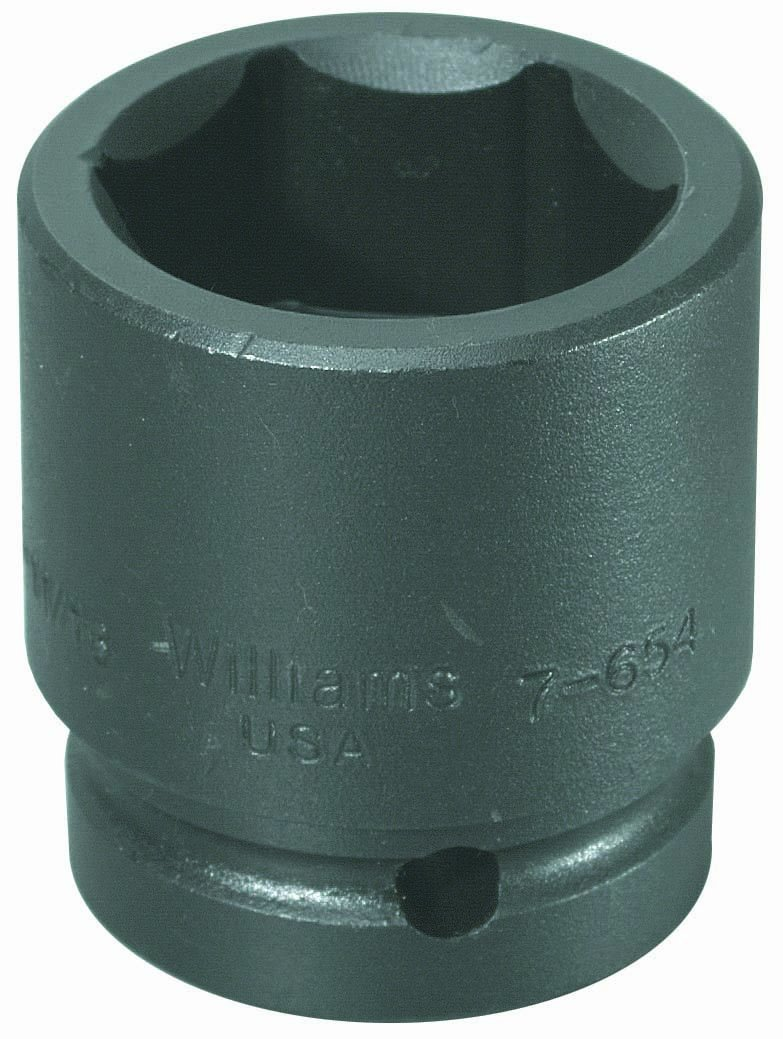 Williams 7-636 1 Drive Impact Socket 6 Point 1-1//8-Inch