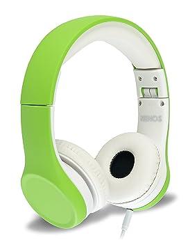 Auriculares para niños con limitador de volumen