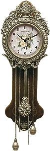 Victorian Trading Co. Provencal Primrose Pendulum Wall Clock Nib