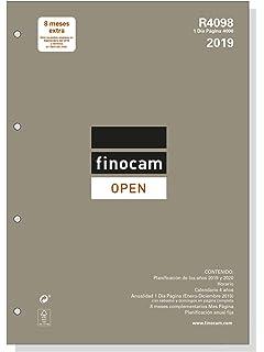Recambio Agenda FINOCAM Anual Multifin 2019, 3002 S/V ...