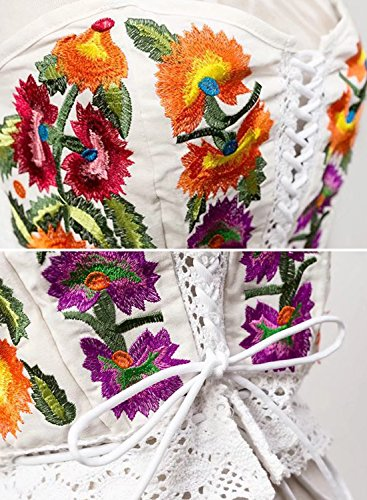 Futurino - Corsé - para mujer Multicolor