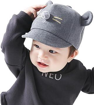 Gorras de Béisbol Niña Niño Bebé Sombrero de Sol de algodón con ...
