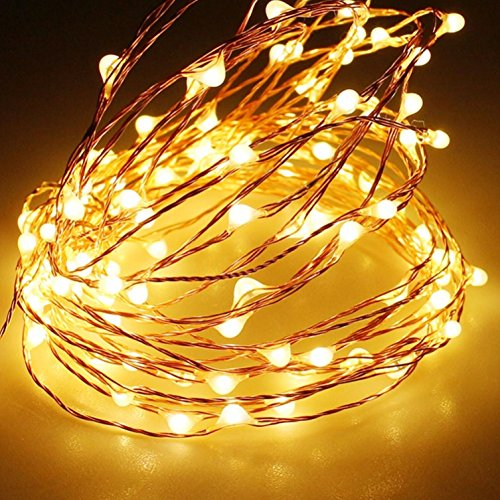 Copper Patio String Lights : Solar String Lights,Sogrand Outdoor Garden Decorative Light 200 LED Copper Wire Warm White LED ...