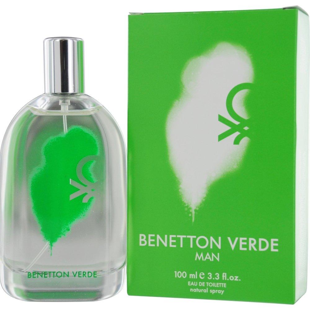 abajo Contra la voluntad inestable  Amazon.com : Benetton Verde By United Colors of Benetton, 3.30-Ounce : Eau  De Toilettes : Beauty