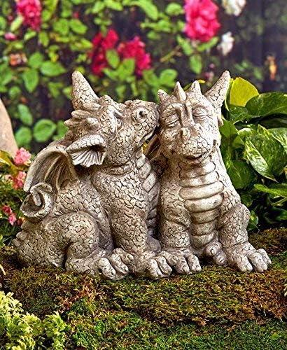 Dragon Garden Statue Garden Sculptures & Statues Patio, Lawn ...