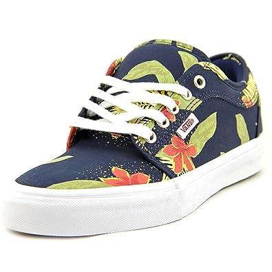 65763de573 Vans Chukka Low Aloha Navy Blue Green Sneakers Men s (9 Men s ...