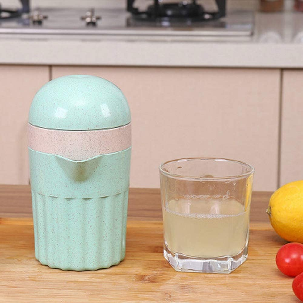Grea Exprimidor 2 Juicer Manual Exprimidor de Limón Mini Jugo de ...