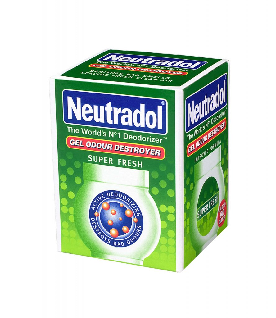 Gel Neutradol Olor Destroyer - Verde de Super Fresh Scent