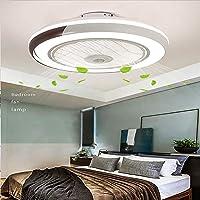 Invisible ventilador de techo luz, moderna LED Ventilador de techo Lámpara de techo con…