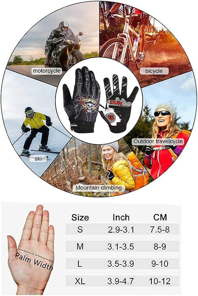 Slip Breathable MTB Road Bicycle Gloves Padded Antiskid Touch Screen GIEADUN Cycling Gloves Men Women Mountain Bike Gel Pad Shock-Absorbing Anti