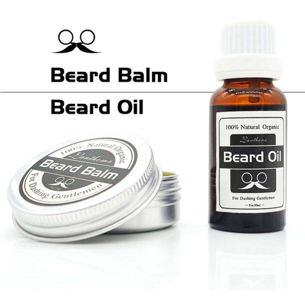 Beard Oil & Balm Premium Beard Conditioning Oil For Men Nourishes And Thickens Hair Giving Shine Without Leaving A Greasy Residue - Beard Styles, Goatees, Sideburns + Moustaches - Improve Growth, Shine And Add Texture To All Beards KaloryWee Beauty UK