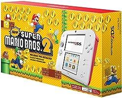 Nintendo 2DS, color Scarlet Red con Juego Super Mario Bros 2 - Standard Edition