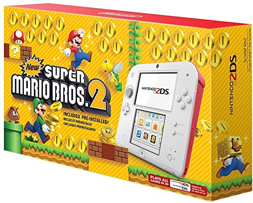 Nintendo 2DS - New Super Mario Bros. 2 Edition (System Ds Bundle Lite Nintendo)
