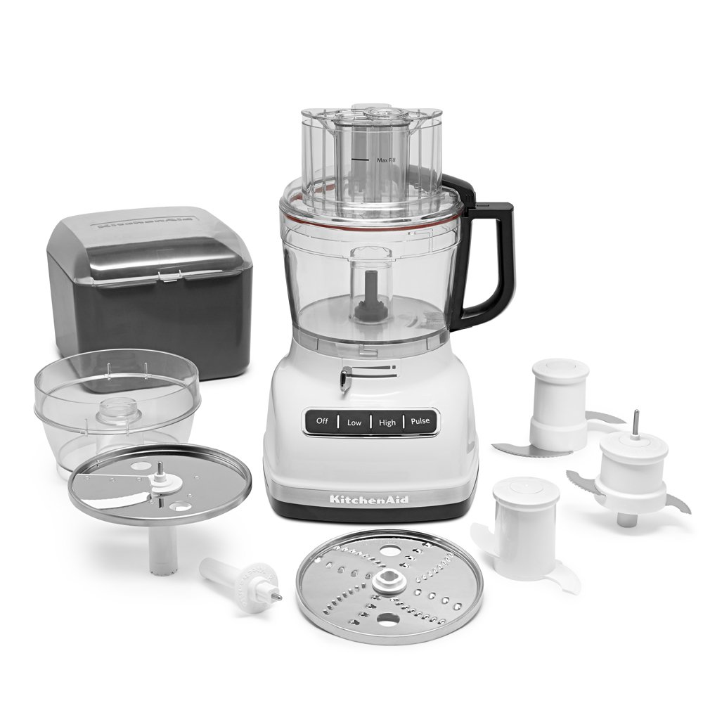 KitchenAid KFP1133WH 11-Cup Food Processor with Exact Slice System - White by KitchenAid (Image #3)