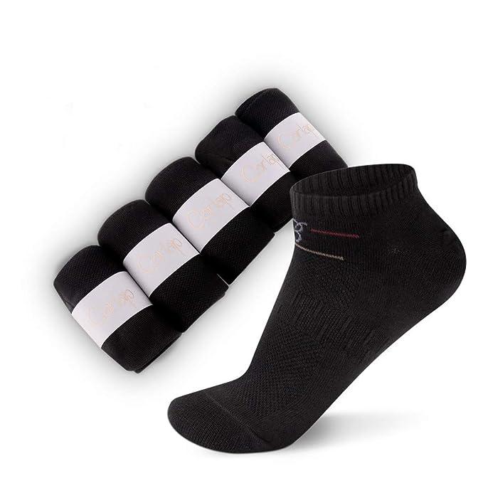 Low Cut Men Socks Ankle Athletic Sport Socks Casual Running Socks for Men(5 pair)