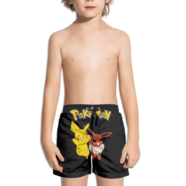 ughbhjnx Kids Absorbent Beach Adjustable Swimming Trunks Beach Shorts