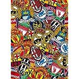 [BOMB STICKER] INTERNATIONAL WORLD FOOTBALL CLUB Soccer Team Sports Color JDM Graffiti Cover Decal Sheet 7.5x9.5 19x24cm by GOBBER Sticker